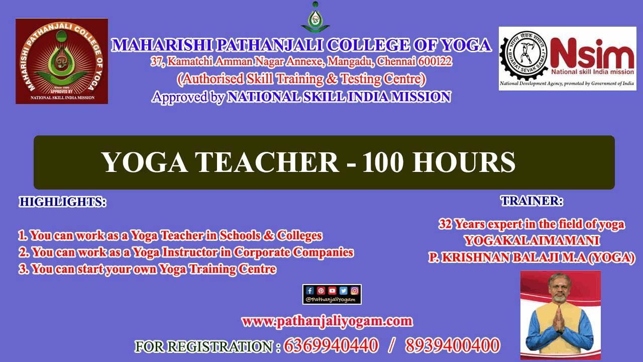 NSIM – Yoga Teacher